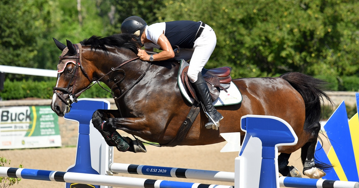 Thumbnail for Holly Shepherd 'Kroozes' to Win the $50,000 HITS Grand Prix