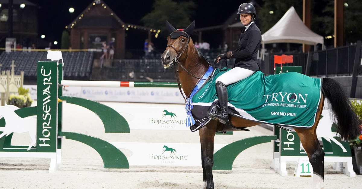 Thumbnail for Nicole Shahinian-Simpson and Akuna Mattata Dominate Horseware Ireland Grand Prix
