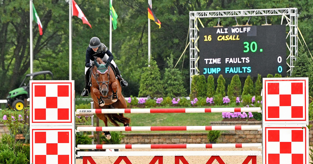 Thumbnail for Ali Wolff Dominates $50,000 Grand Prix at Lamplight