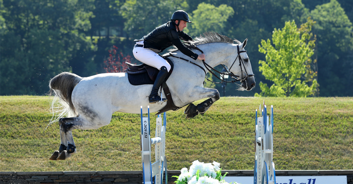 Thumbnail for Coyle Wins $200,000 Voltaire Grand Prix at HITS Saugerties