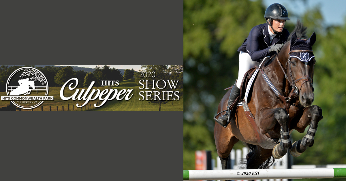 Thumbnail for HITS Culpeper July Series Wraps with Grand Prix win for Bree Rosales