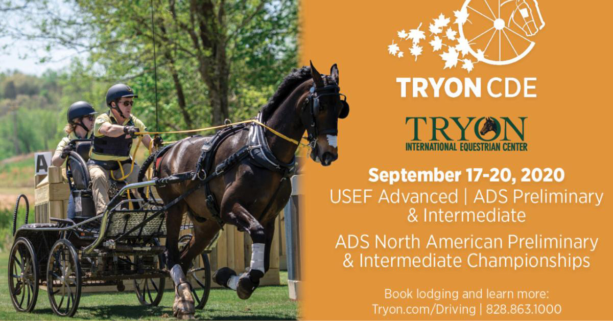 Thumbnail for Driving Championships coming to Tryon in September