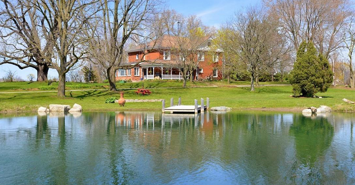 Thumbnail for $1,800,000 for an equestrian property in Brantford, Ontario