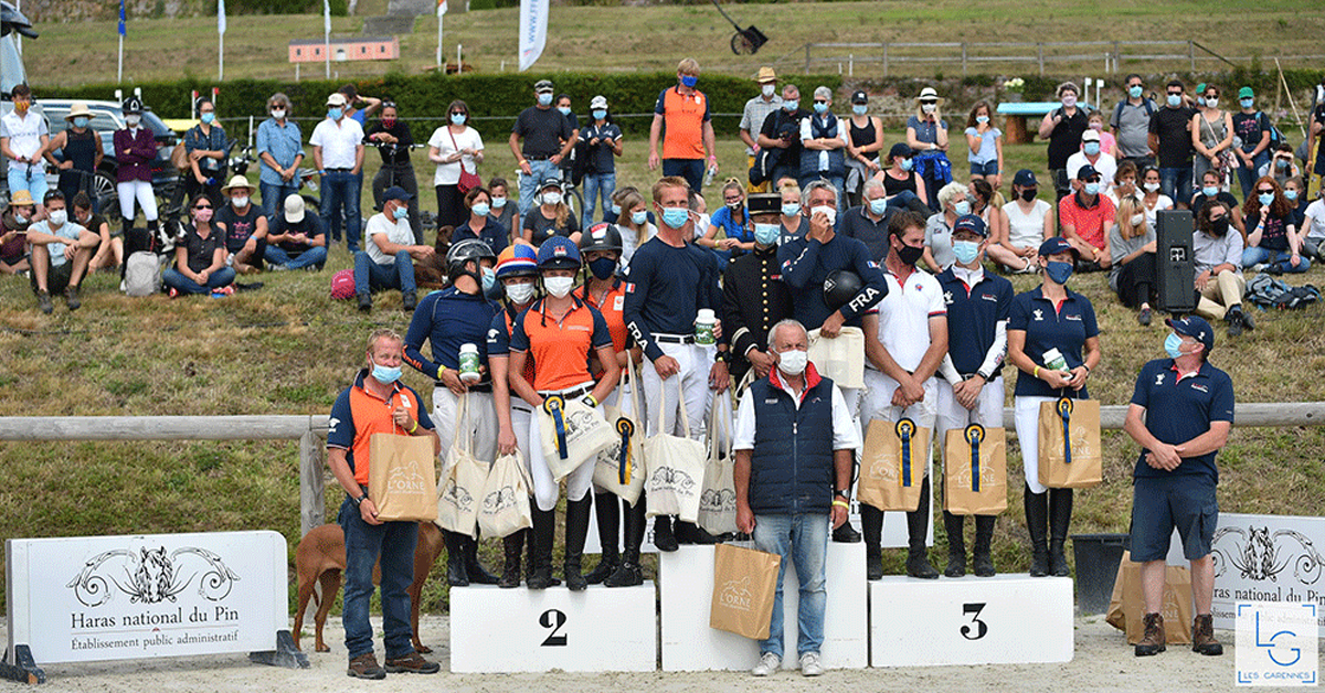 Thumbnail for French Team Triumphs at 4* Eventing Nations Cup of Le Pin
