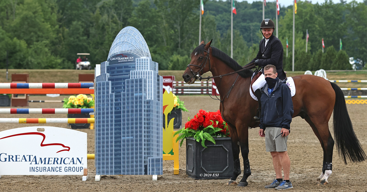 Thumbnail for Mario Deslauriers wins $200,000 Great American Grand Prix