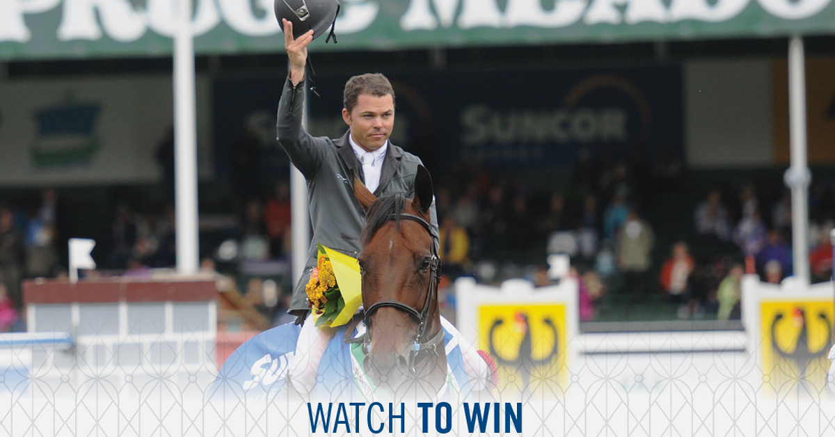 Thumbnail for Spruce Meadows: Watch to Win, Leg Up Foundation, Name the Foal