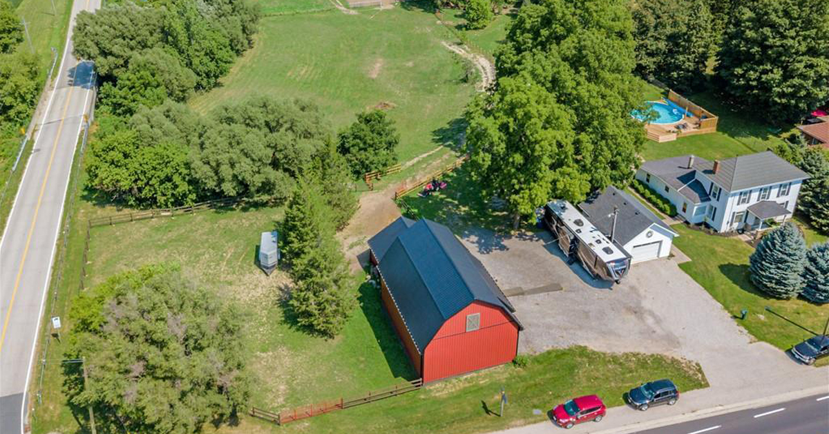 Thumbnail for $799,900 for a beautiful hobby farm on the edge of Aylmer, ON
