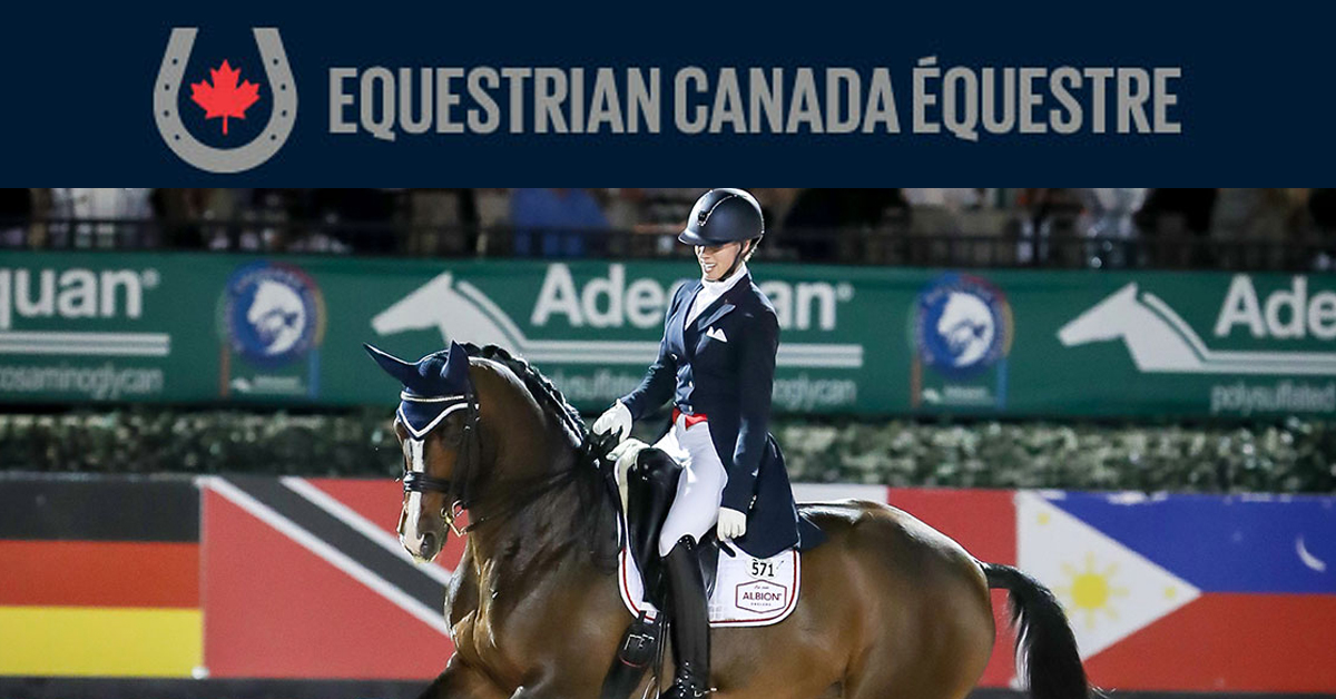 Thumbnail for Equestrian Canada Suspends 2020 Dressage Awards Program