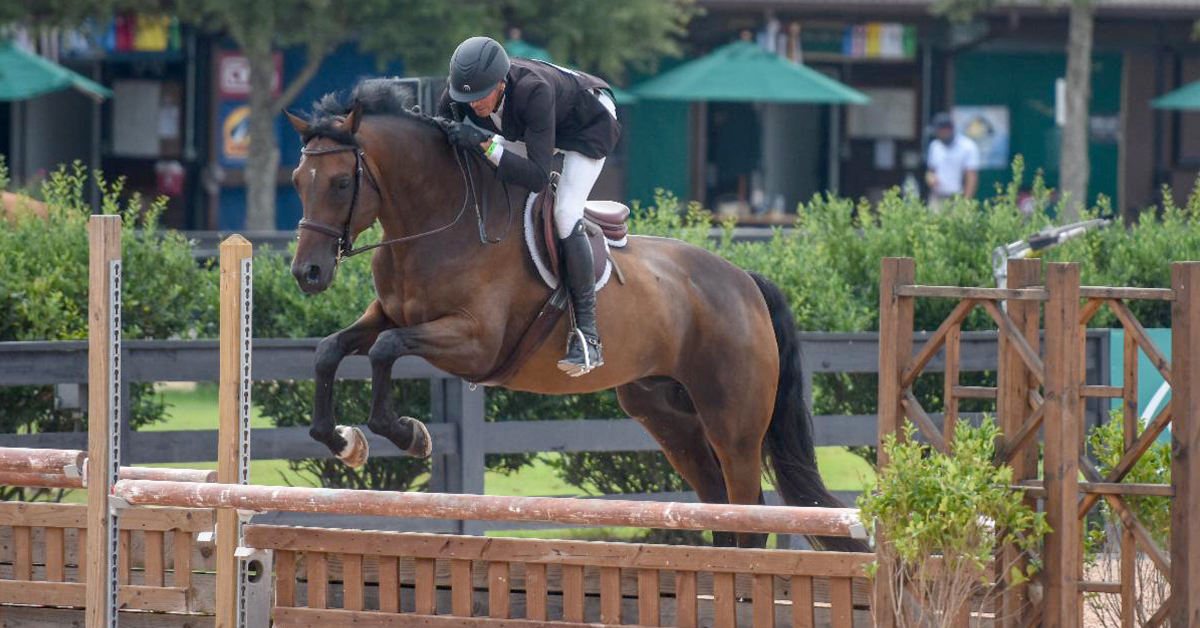 Thumbnail for Tryon Wrap-Up: Harold Chopping and Halston Claim Hunter Derby