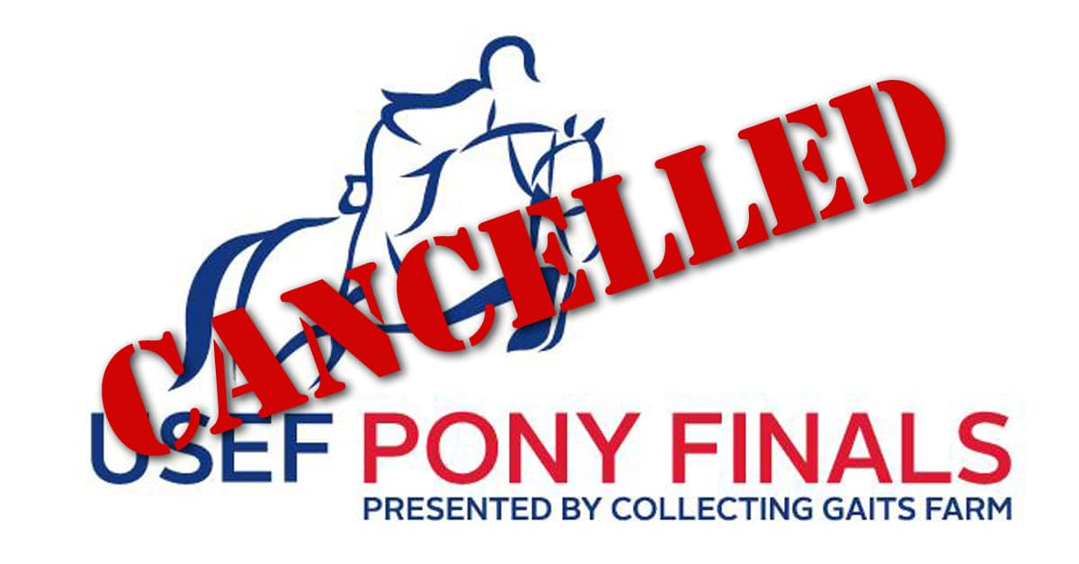 Thumbnail for Covid Cases Force Cancellation of 2020 USEF Pony Finals