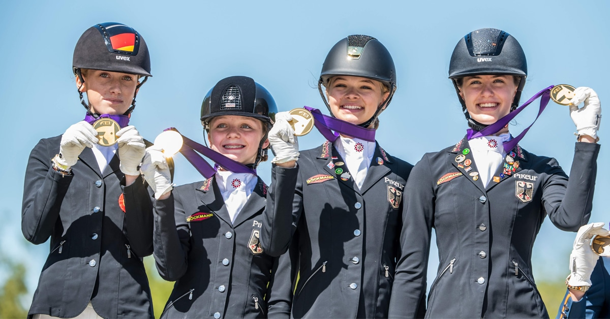 Thumbnail for German Teen Breaks Individual Dressage World Record in Hungary