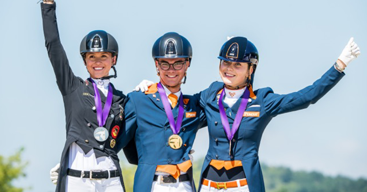 Thumbnail for FEI Dressage European Youth Championships Produce Stunning Sport