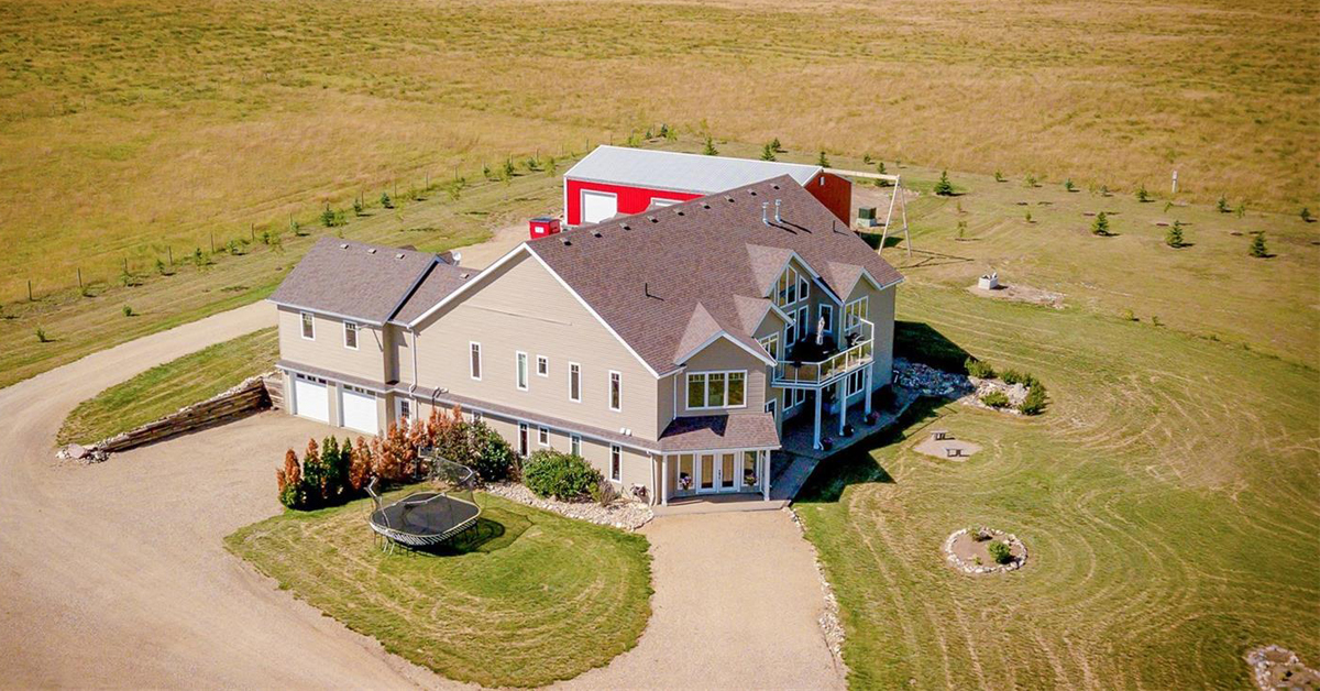 Thumbnail for $1,399,900 for a custom-built home and stable on 10 acres in Moose Jaw, SK