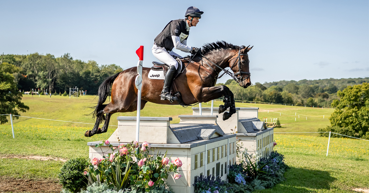 Thumbnail for William Fox-Pitt Wins Inaugural Cornbury House Horse Trials