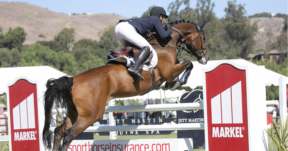 Thumbnail for Cassio Rivetti and Goblet win $39,150 Markel Insurance Final