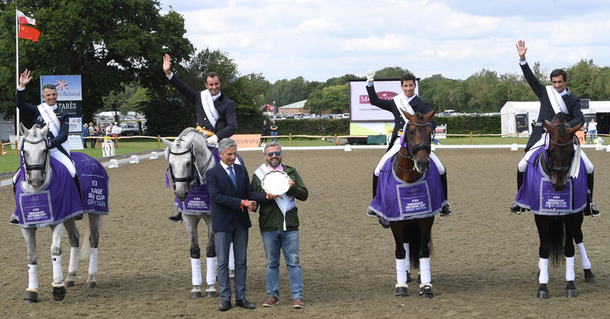 Thumbnail for End of an Era as Dressage at Hickstead Shuts Down for Good