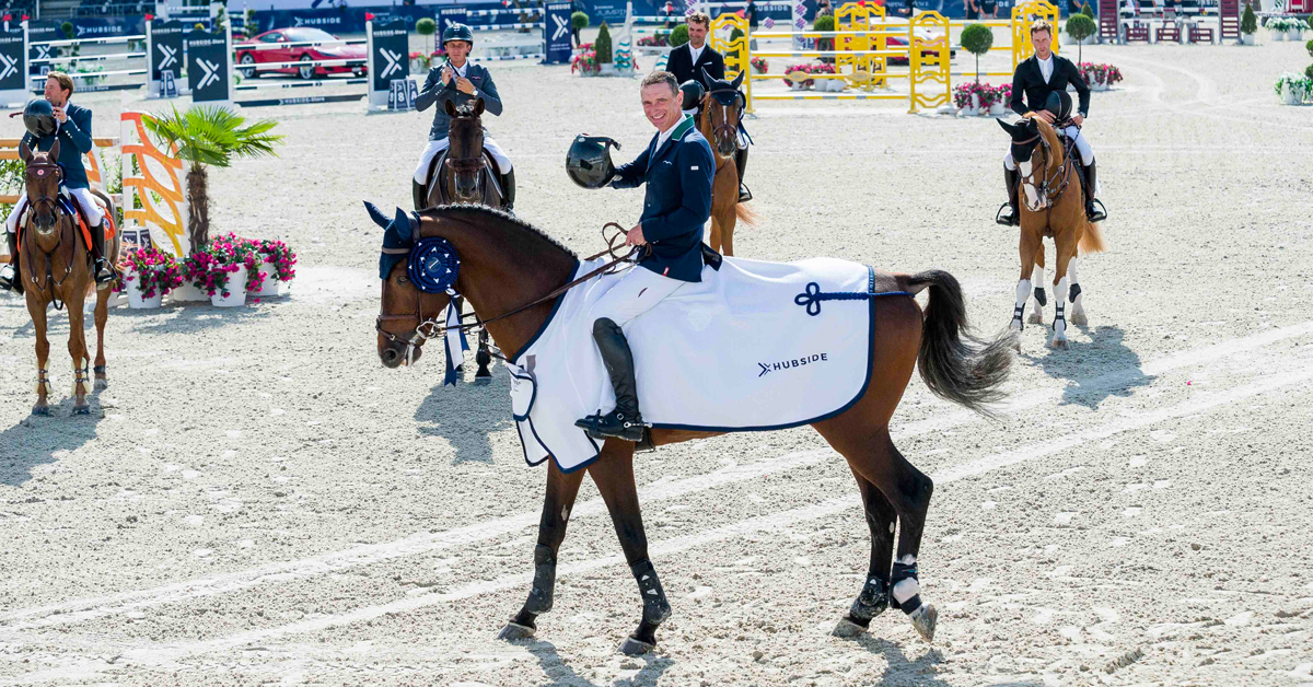 Thumbnail for Ireland's Denis Lynch wins the Hubside Fall Tour's 5* Grand Prix