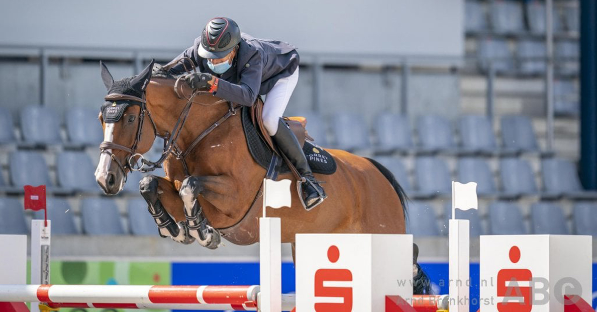 Thumbnail for Canadian Connections Victorious with Exciting New Horse in Aachen