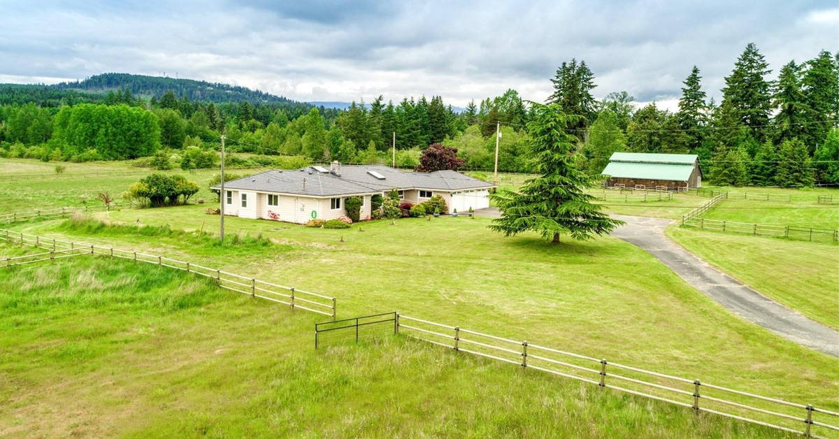 Thumbnail for $1,850,000 for outstanding acreage with beautiful mountain views in Parksville, BC