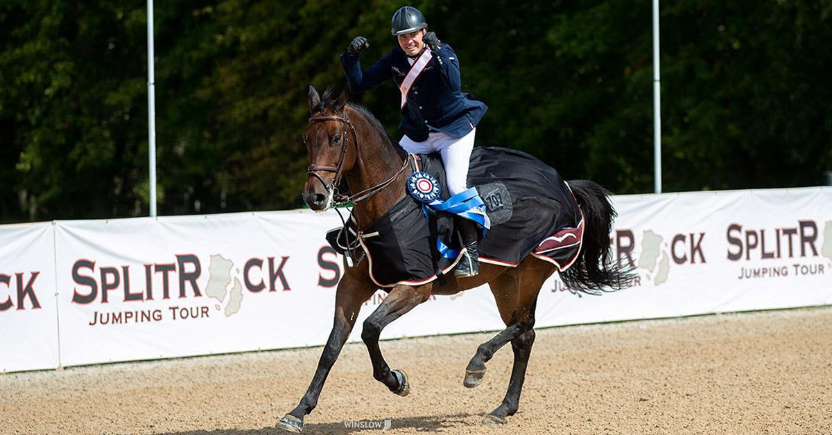 Thumbnail for Christian Heineking Wins $100,000 Grand Prix at Columbus International