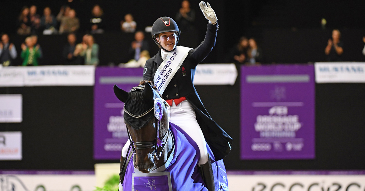 Thumbnail for Dufour Leads Danish Defence at Dressage World Cup 2020/21 Opener