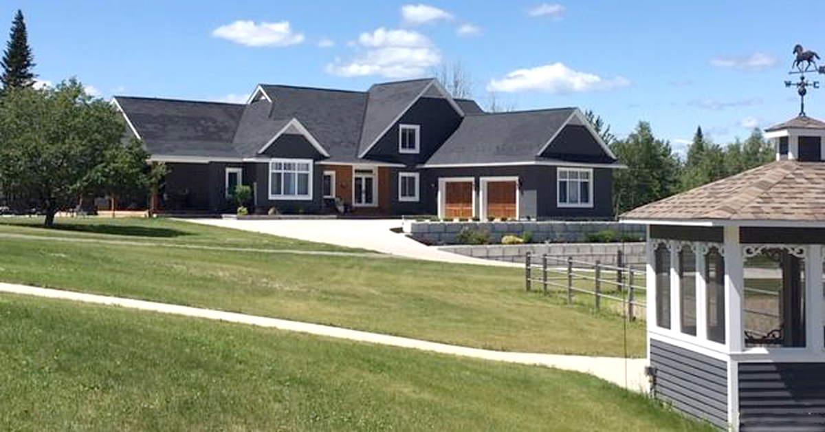 Thumbnail for $1,290,000 for exquisite home, tidy barn on private estate in New Brunswick