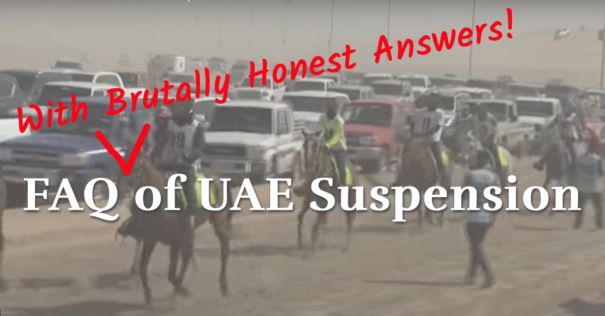 Thumbnail for Will the UAE's Suspension Trigger an Endurance Breakaway?