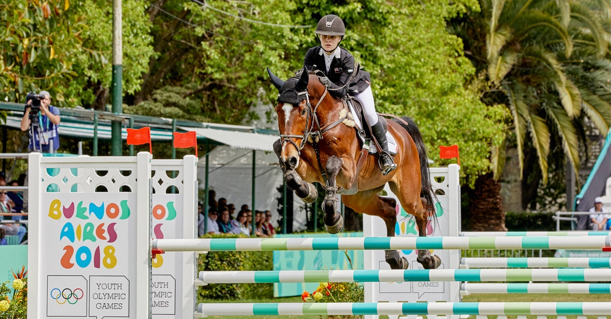 Thumbnail for FEI Opens Bidding for Possible Youth Jumping Competition for 2022