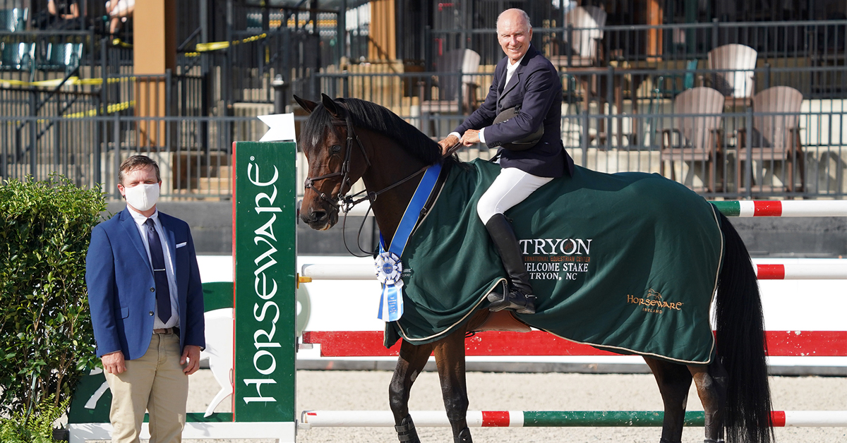 Thumbnail for Mario Deslauriers and Amsterdam 27 Take $73,000 Horseware Ireland Welcome Stake