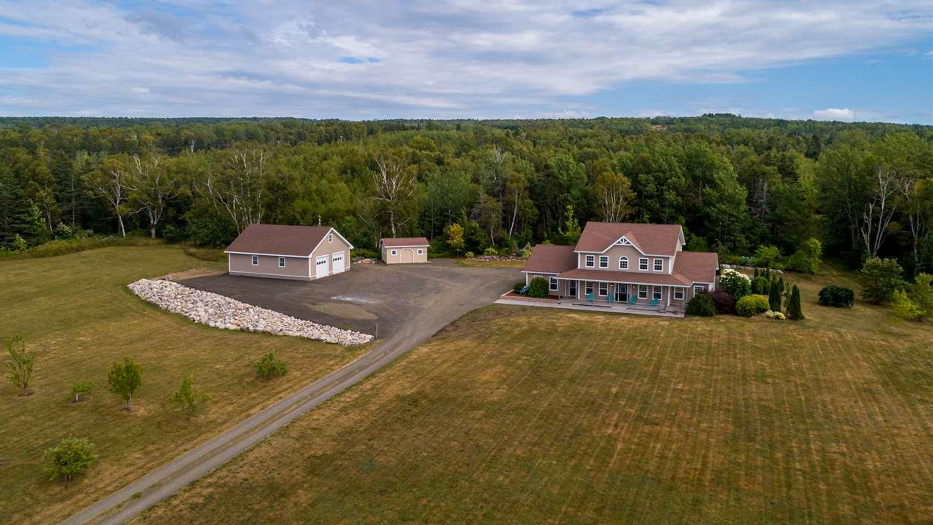 Thumbnail for $995,000 for a spacious hobby farm looking over the Bay of Fundy in Hampton, NS