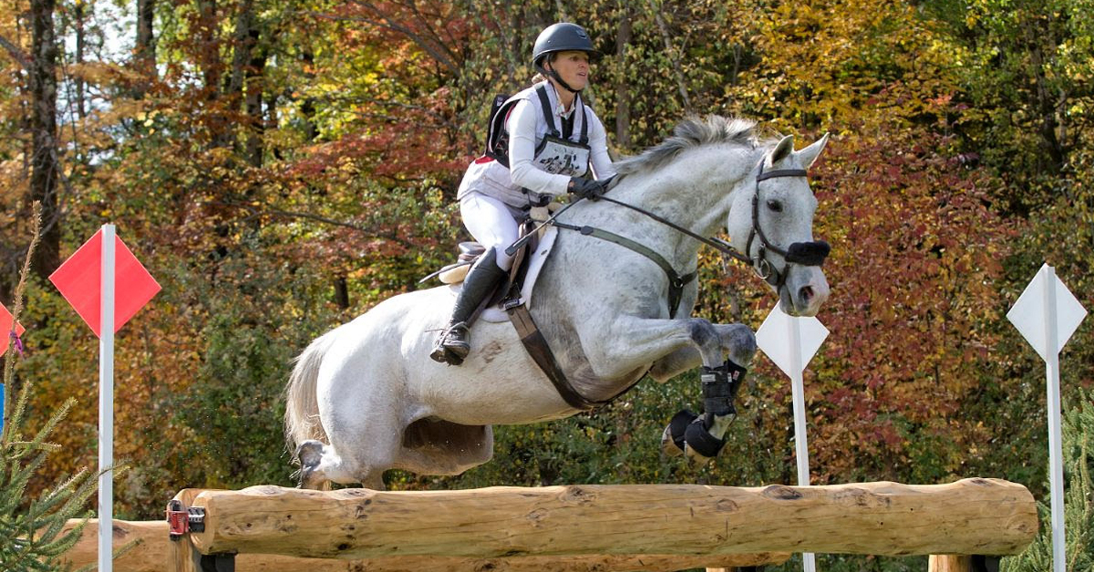 Thumbnail for Jessica Phoenix and Wabbit Take Bromont Autumn CCI4*-S
