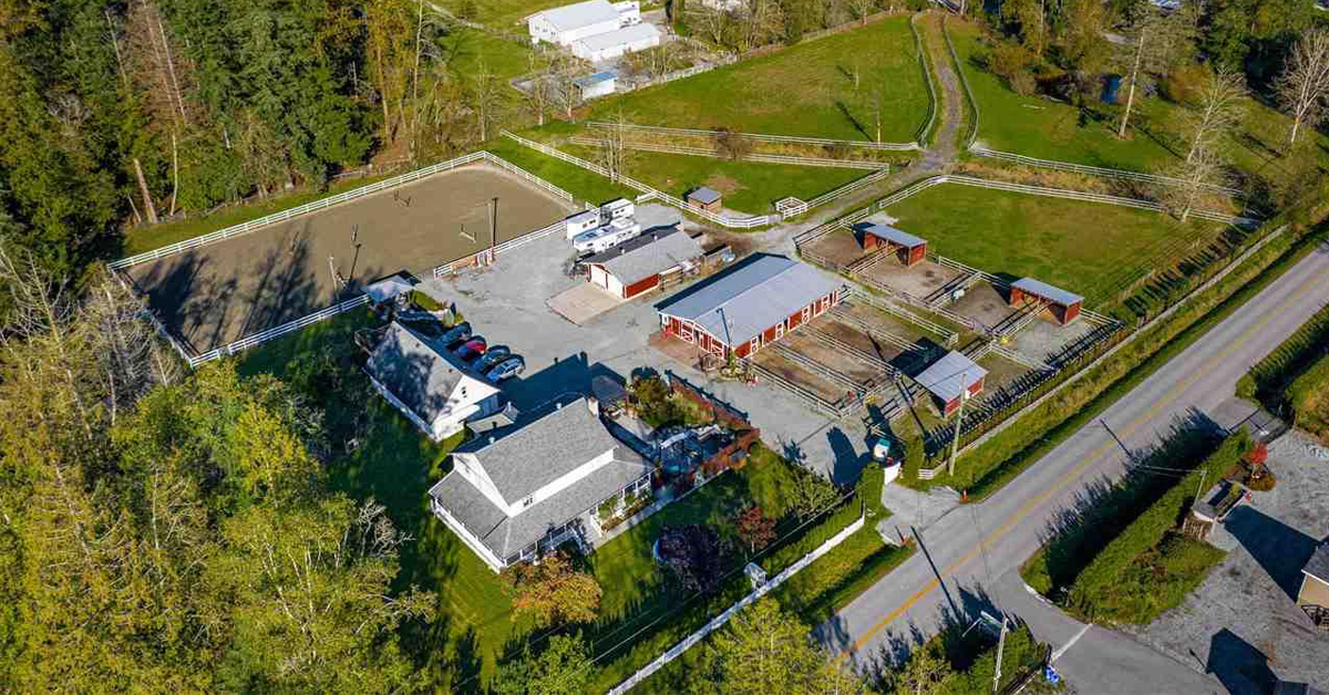 Thumbnail for $2,590,000 for a 5-acre turnkey equestrian property in Langley, BC