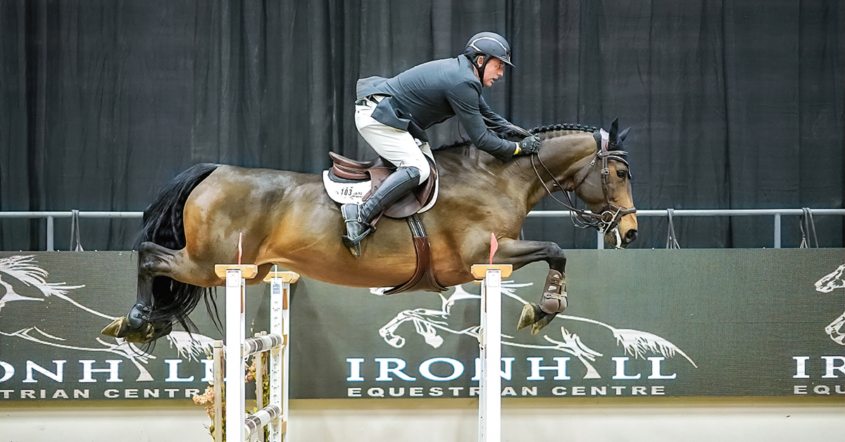 Thumbnail for Candele, Anderson Team Up For Final Alberta Jumper Show