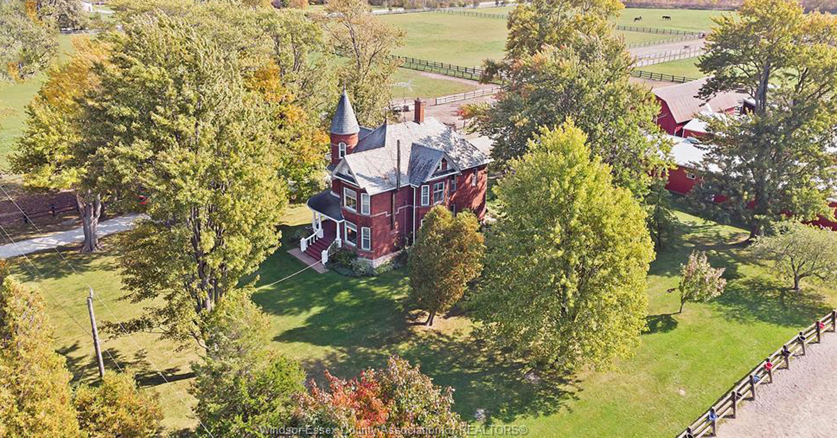 Thumbnail for $1,649,000 for a 65+ acre horse farm in Rochester, Ontario