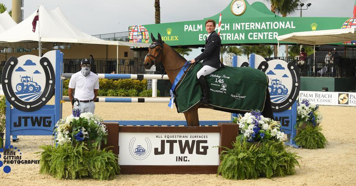 Thumbnail for Darragh Kenny Pilots Belo Horizonte to Win the $37,000 JTWG CSI4*