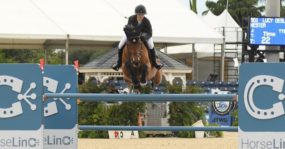 Thumbnail for Lucy Deslauriers and Hester Claim $73,000 Sweet Oak Farm Win