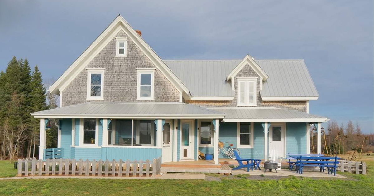 Thumbnail for $499,900 for a charming 1890s farmhouse and new barn in Little Pond, PEI