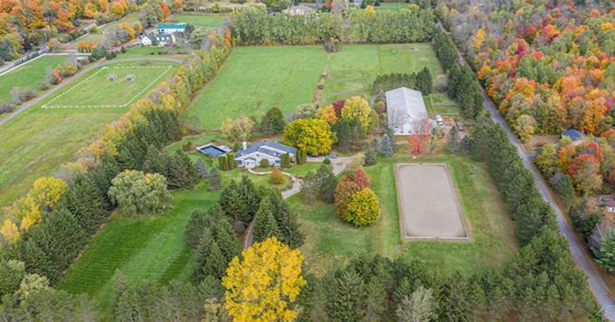 Thumbnail for $2,000,000 for an equestrian estate in Rigaud, Quebec
