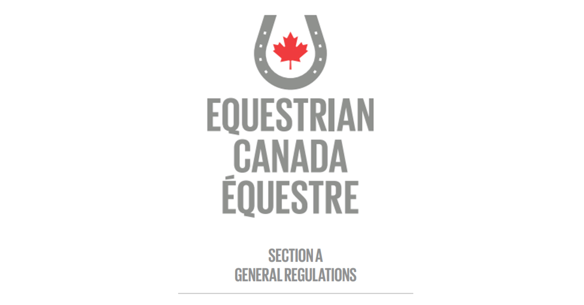 Thumbnail for 2021 Equestrian Canada Rules Now Available Online