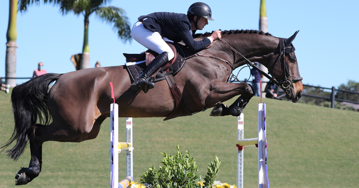 Thumbnail for Allen and Pacino Amiro Win $37,000 Adequan® WEF Challenge Cup 2