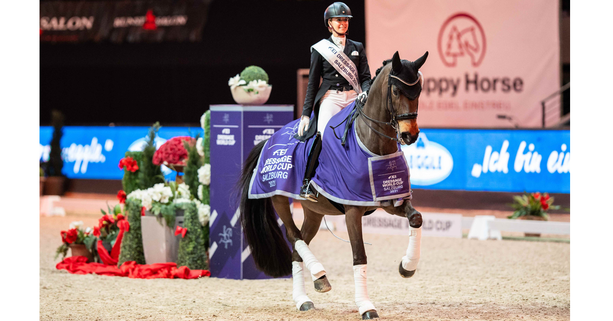 Thumbnail for Jessica von Bredow-Werndl and Dalera Storm to Victory in Salzburg