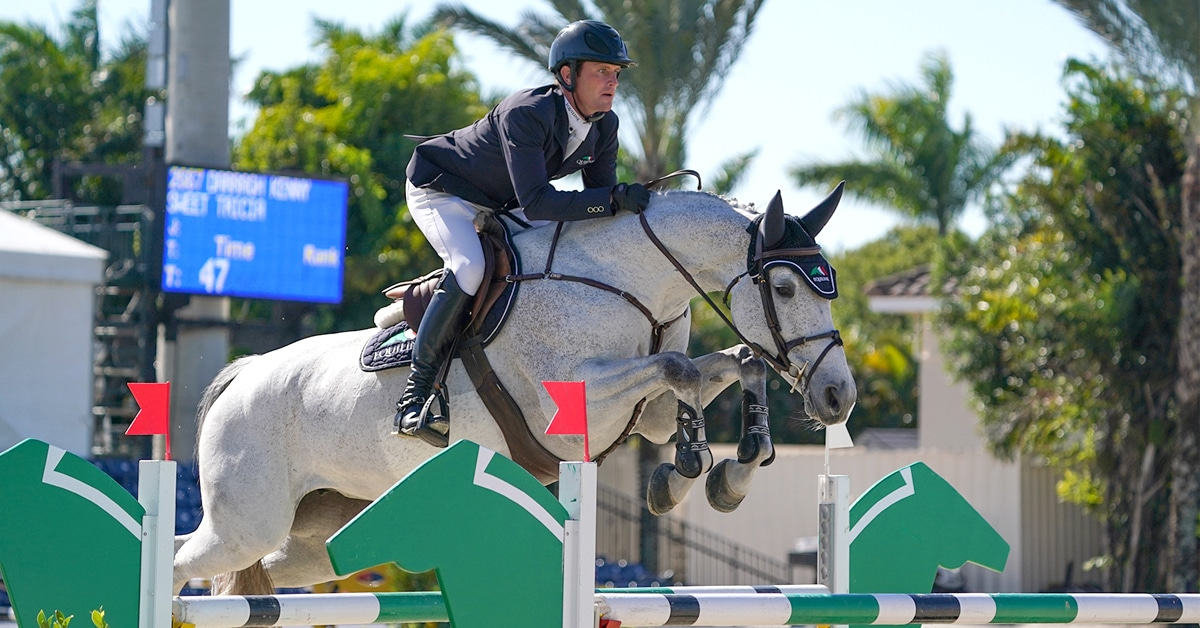 Thumbnail for Consecutive Wins for Kenny at the Winter Equestrian Festival