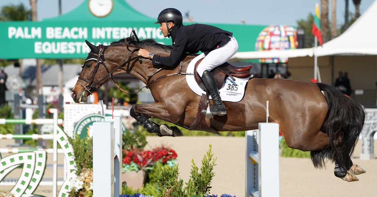 Thumbnail for Farrington and Austria Win $37,000 Adequan WEF Challenge Cup