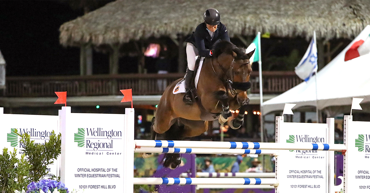 Thumbnail for Beezie Madden and Breitling LS Take $137,000 Grand Prix CSI3*