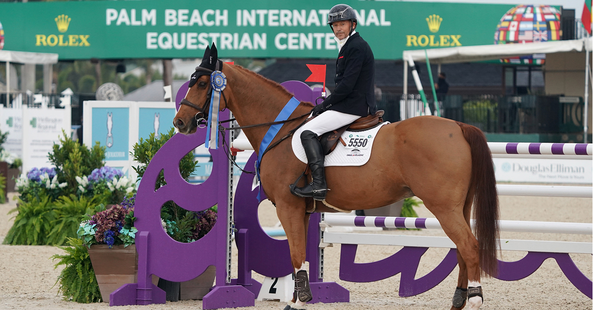 Thumbnail for Eric Lamaze and Chacco Kid Score First Victory at 2021 WEF