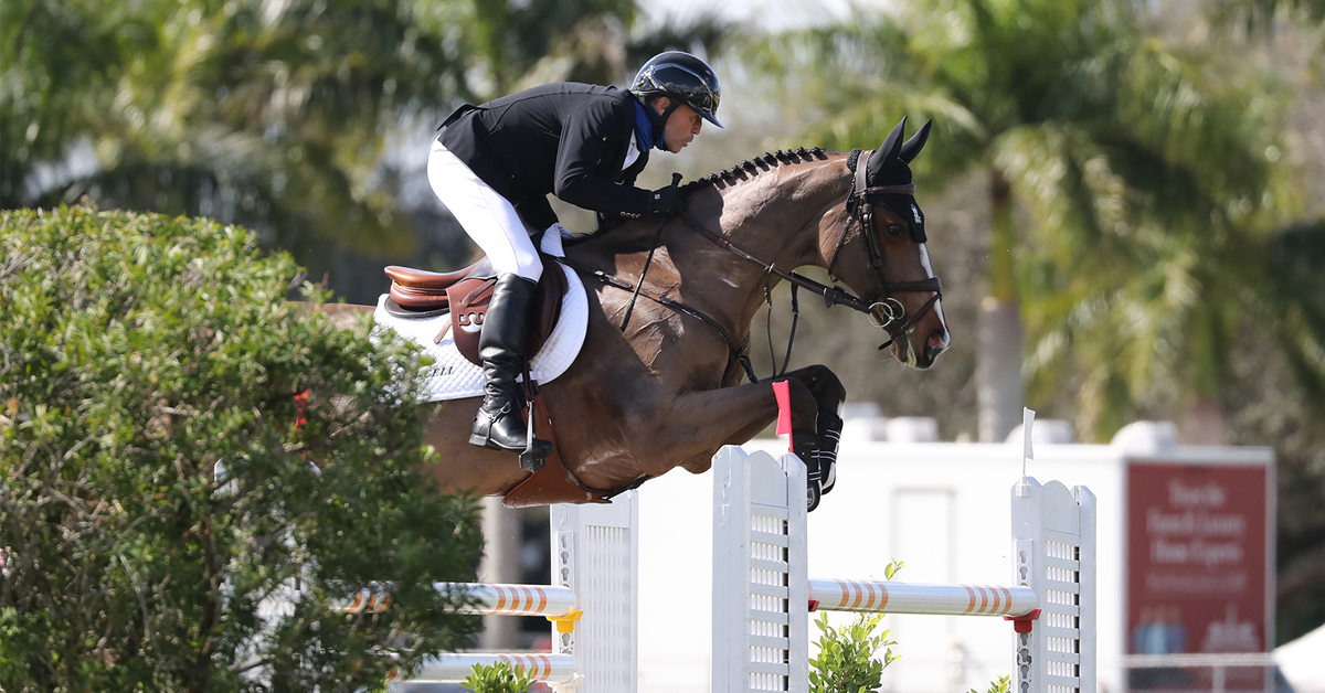 Thumbnail for Eric Lamaze and Fine Lady 5 a Close Second in Grand Prix