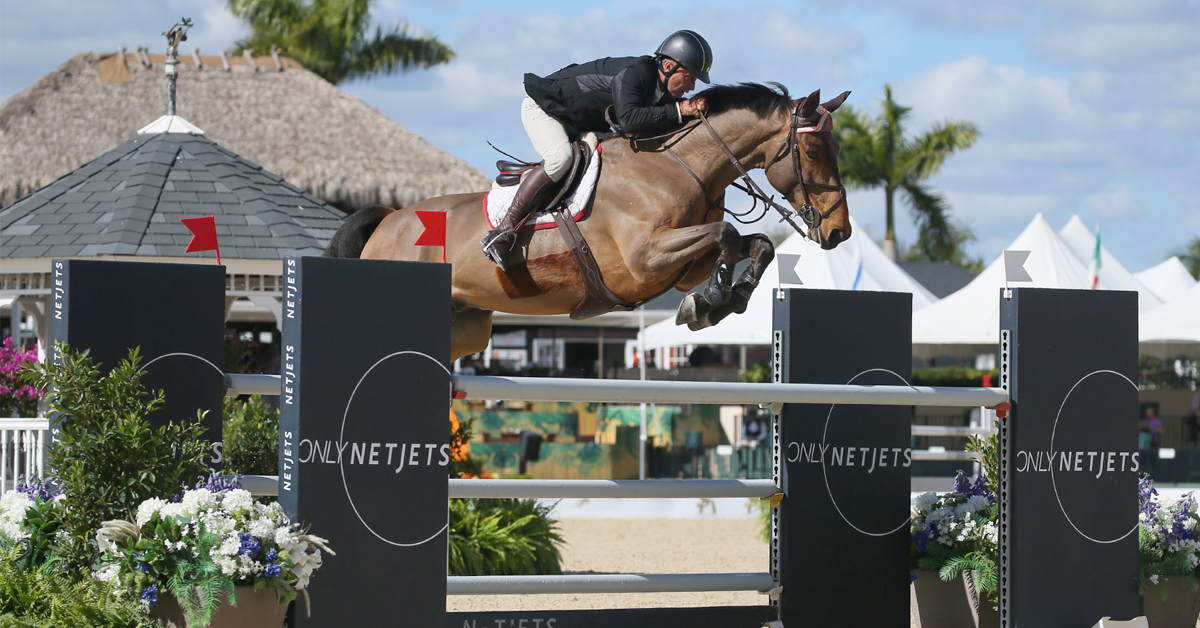 Thumbnail for WEF 2 Opens with Wins for Minikus and Michan in 1.40m Jumpers