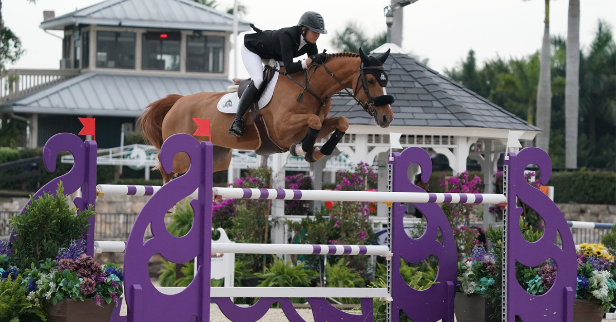 Thumbnail for Tiffany Foster Close Second in $30,000 Pilates Rocks Grand Prix