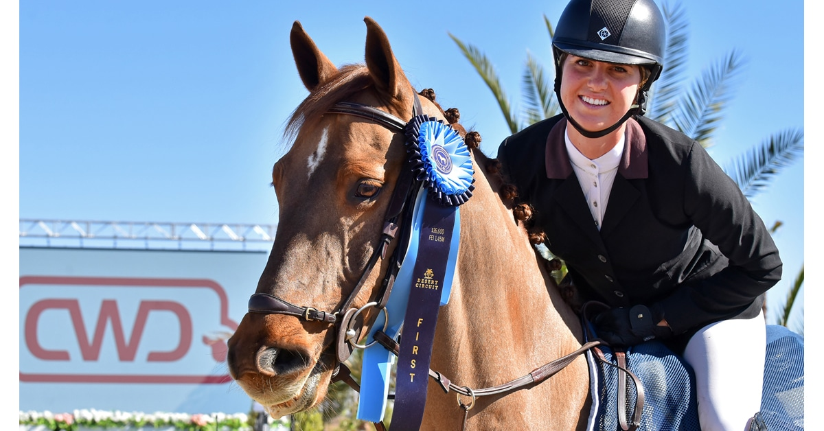 Thumbnail for Big Win for Chandler Meadows in FEI $36,600 CSI3* at DIHP