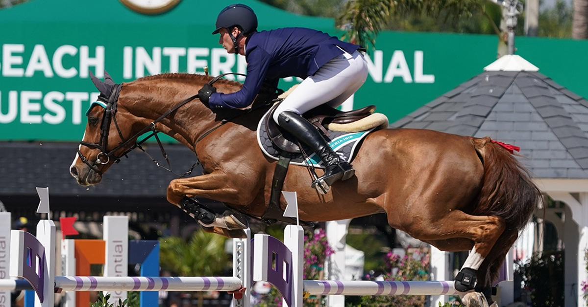 Thumbnail for Deusser Dominates $73,000 Adequan WEF Challenge Cup 7